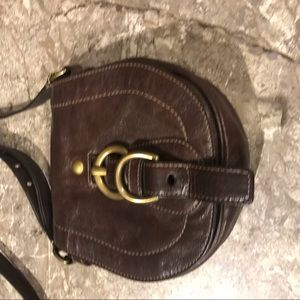 Authentic Coach Leather Cross body purse